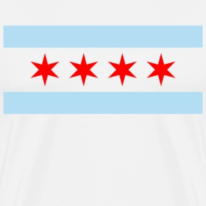 Chicago Flag T-Shirts - Men's Premium T-Shirt