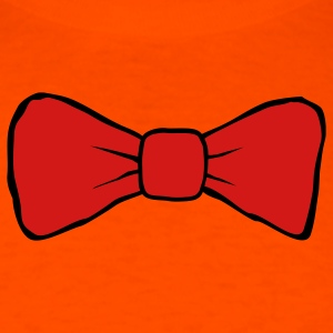 Orange bow tie Men - Men's T-Shirt