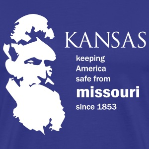 John Brown KU-MU SIS shirt - Men's Premium T-Shirt
