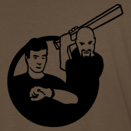Design ~ Kirk vs. Picard - Logo Back, by Request