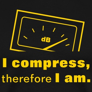 I Compress, therefore I am. T-Shirts - Men's Premium T-Shirt