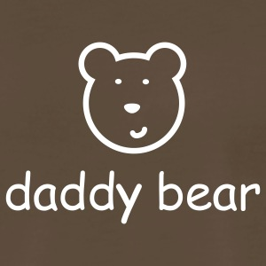Chocolate Daddy Bear Men - Men's Premium T-Shirt