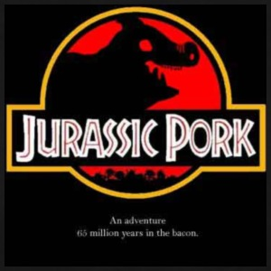 jurassic pork - Men's Premium T-Shirt