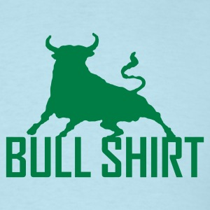 Sky blue bull shirt Men - Men's T-Shirt