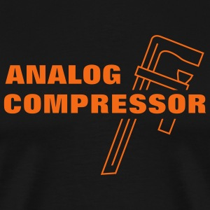 Analog Compressor T-Shirts - Men's Premium T-Shirt