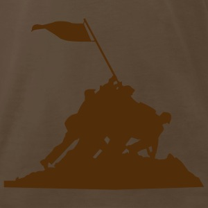 Chocolate iwo jima Men - Men's Premium T-Shirt