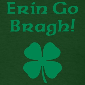 Forest green Erin Go Bragh Men - Men's T-Shirt