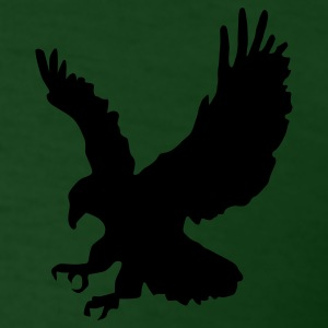 Forest green eagle Men - Men's T-Shirt