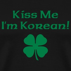 Black Kiss Me I'm Korean Men