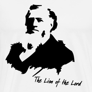 The Lion of the Lord (Natural) - Men's Premium T-Shirt