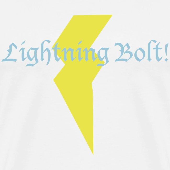 Lightning Bolt! - white