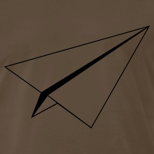 Chocolate paperplane Men - Men's Premium T-Shirt