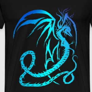 Electric Dragon  - Men's Premium T-Shirt