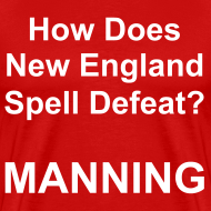 Design ~ New England Spelling T-Shirt (Red)