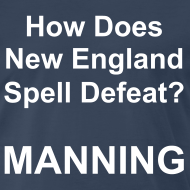 Design ~ New England Spelling T-Shirt (Navy)