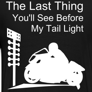 My Tail Light Drag Bike T - Men's Premium T-Shirt