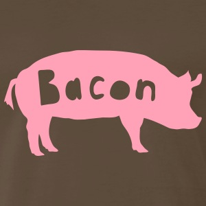 Chocolate bacon Men - Men's Premium T-Shirt