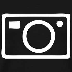 Black Camera - Photography Men - Men's Premium T-Shirt
