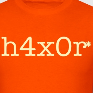 Hacker, Haxor, h4x0r - Men's T-Shirt