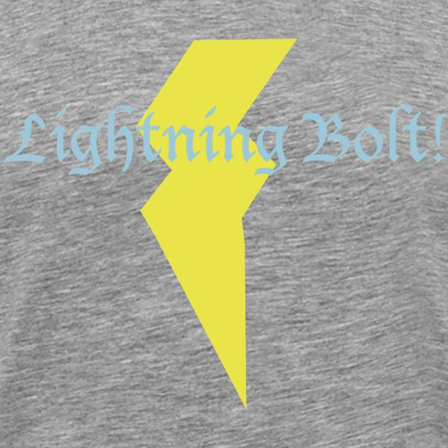 Lightning Bolt!- grey