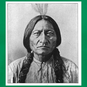 Bright green Sitting Bull 24973245 Men - Men's Premium T-Shirt
