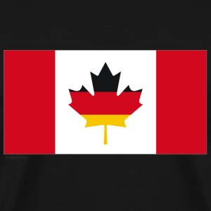 Black Canada Germany Men - Men's Premium T-Shirt