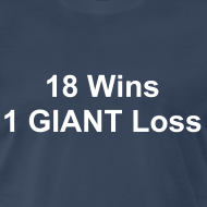 Design ~ 18 wins, 1 Giant Loss