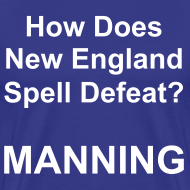Design ~ New England Spelling T-Shirt (Colt Blue)