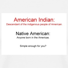 White American Indian vs Native American Men