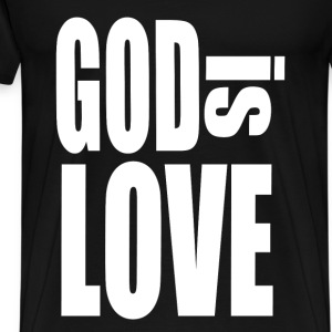 God Is Love - Men's Premium T-Shirt