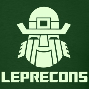 Leprecons- Glow in the Dark - Men's T-Shirt