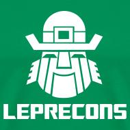 Design ~ Leprecons- White on Green