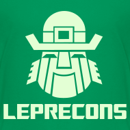Design ~ Leprecons- Kids T, Glow in the Dark