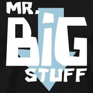Black Mr. Big Stuff Men - Men's Premium T-Shirt