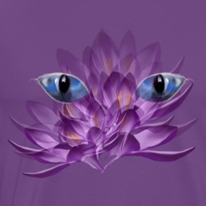 Cats Eyes and Crocus - Men's Premium T-Shirt