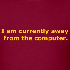 Burgundy I am currently away from the computer Men