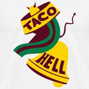 Natural Taco Hell Men - Men's Premium T-Shirt