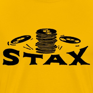 Yellow Stax Records T-Shirts - Men's Premium T-Shirt