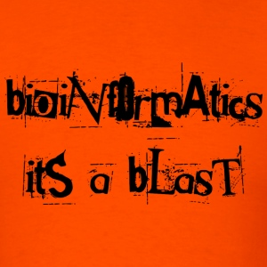 Bioinformatics : it's a blast! - Men's T-Shirt