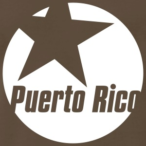 Chocolate puerto rico star Men - Men's Premium T-Shirt