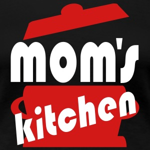 Black Mom's Kitchen Women - Women's Premium T-Shirt