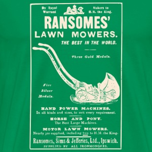 Ransomes Lawn Mowers - Men's Premium T-Shirt