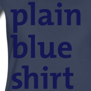 Navy plain blue shirt Women - Women's Premium T-Shirt