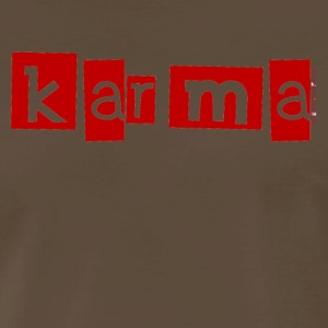 Chocolate Karma T-Shirts - Men's Premium T-Shirt