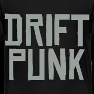 Design ~ Drift Japan DRIFT PUNK - Toddler's Black T-Shirt
