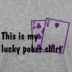 Ash  Poker - Bad Hand Men - Men's Premium T-Shirt