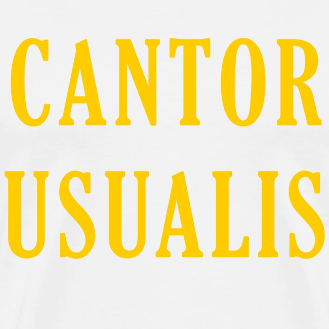 Cantor Usualis - White