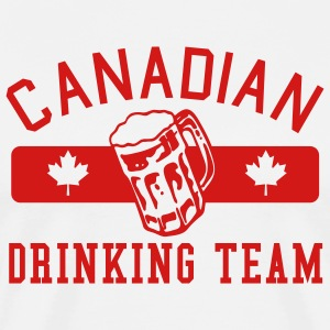 Canadian Drinking Team -red - Men's Premium T-Shirt