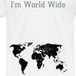 I'm World Wide - Men's Premium T-Shirt