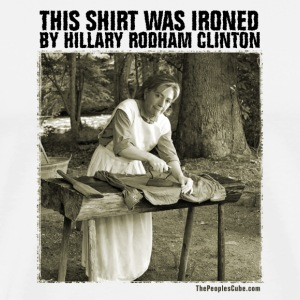 Ironed By Hillary - Men's Premium T-Shirt